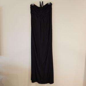 Old Navy Maternity black maxi dress Medium
